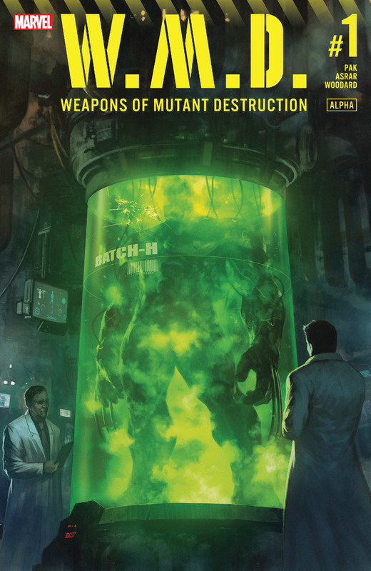 Weapons of Mutant Destruction 001 (2017)